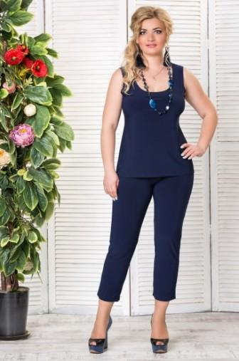 Топ «Лори» Цвет: Синий фото: #1