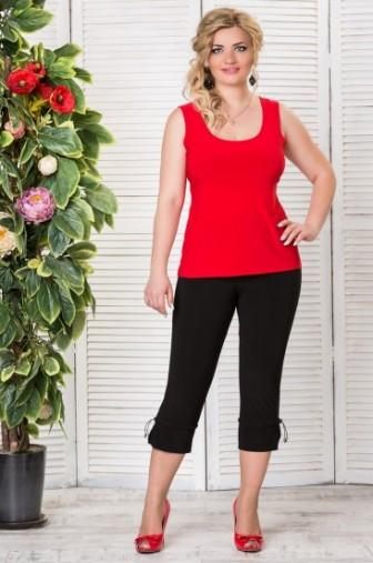Топ «Лори» Цвет: Красный фото: #1