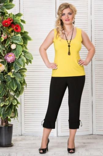 Топ «Лори» Цвет: Желтый фото: #1