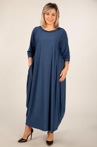 Купить Длинное Платье Трикотажное Большого Размера