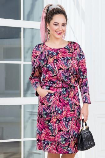 Платье Вивьен Цвет: темно-розовый фото: #1
