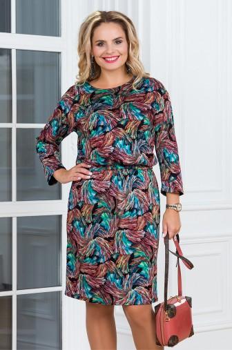 Платье Вивьен Цвет: бирюзовый фото: #1