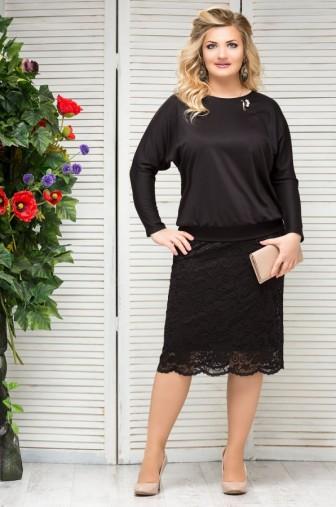 Блузка Верона Цвет:черный фото: #1